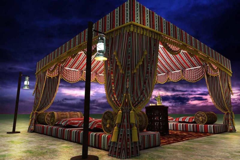 Arabic Tents & Tents