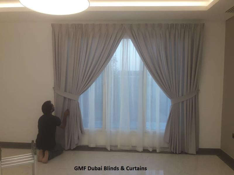 Curtains Fixing and Installation in Dubai